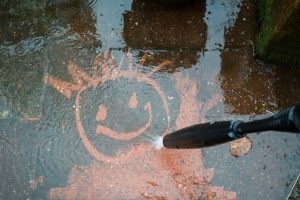 Part clean part dirty - pressure washing services
