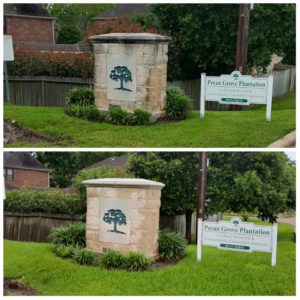 peacon grove pressure washing in sugarland